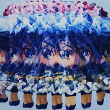 MERRY GO ROUND (DRIFT ICE), 2013, 26x37cm, 10 1/4x14 5/8in., acrylic on panel