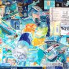 服部桜子/Sakurako Hattori 《Windows7》 2017, 45.6 x 65 cm, 雲肌麻紙、膠、岩絵具、水干、胡粉、色鉛筆
