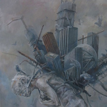 Strayed, 2013, 53x45.5cm, 20 7/8x17 7/8in., oil on canvas