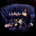 MERRY GO ROUND (DEVIL), 2014, 80.3x80.3cm, 31 5/8x31 5/8in., oil on panel