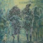 大本幸大/Kota Omoto《Connector》2016, 91x72.7cm, oil on canvas