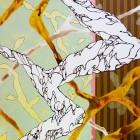 大橋麻里子/Mariko Ohashi 《月あかり》 2018, 91×72.7cm, oil, acrylic on canvas,