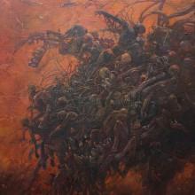 大本幸大/KOTA OMOTO《Beast Within》2018, 65.2x53cm, キャンバス、アクリル