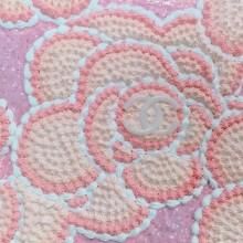 渡辺おさむ/Osamu Watanabe《flowers》 2018, 23 x 15.5 cm, モデリングペースト、アクリル絵具