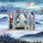 谷川千佳・大山美鈴/Chika Tanikawa, Misuzu Oyama 《spell》2019, 53x65.2cm, acrylic on panel