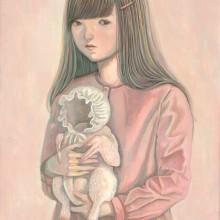 宮本香那/Kana Miyamoto《肌色》 2019 , 22.7x15.8cm, アクリル、キャンバス