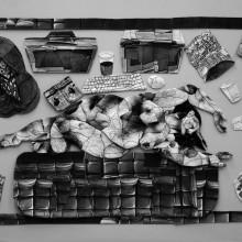 高田茉依/Mai Takada 《faddist#1》 2010, 1点あたり150cm×100cm(全9点), ミクストメディア