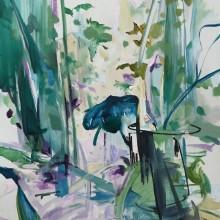 松本藍子/Aiko Matsumoto 《同じようなこと》 2019, 145.5x112cm, キャンバス、油彩