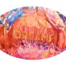 東 麻奈美/Manami Higashi 《FOLLOW YOUR DREAMS》 2021年 91×61cm 油彩、キャンバス